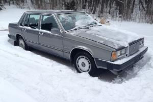 1987 Volvo 760 GLE, Loaded, Dark Grey with Black interior, Clean straight body