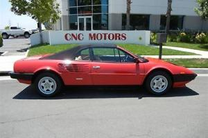 1983 Ferrari Mondial Convertible Spider Cabriolet Only 26,000 Miles Rosso Corsa