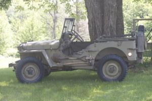 1945 unrestored GPW / Willys  MB Jeep / WWII / mMilitary jeep