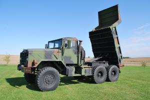 1988 Am General M929A1 Rebuilt 2010 New Motor 5-Ton 6x6 Dump Truck M929