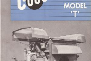 """Couse"" Manufactured Mobile repair shop trailor from the 40's and 50's."