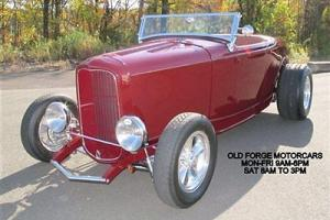 Hot Rod 32 Roadster Highboy all steel Crate 350 SBC V8 Automatic Low Miles