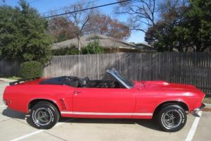 1969 Ford Mustang Convertible 302 Factory V8 Automatic