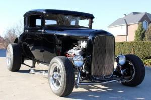 30 Ford Coupe Steel Street Rod Custom Model A WOW