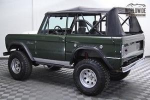1966 FORD EARLY BRONCO! CUSTOM HIGH $$ BUILD! 302 V8! RESTORED!! MUST SEE!