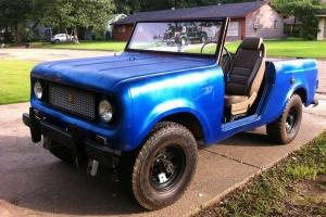 1967 International Scout - Half Cab