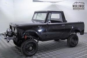 1966 International Scout 4X4 Frame Off Restoration Lifted GO ANYWHERE