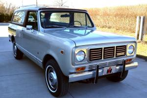 1976 Internationa Harvester Scout  equipped with the optional 345 ci V-8 engine