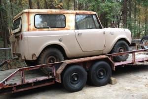 1964 International Harvester Scout All-Wheel Drive (Four-wheel drive)