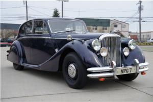 1948 JAGUAR MARK  V 2.5 LITER MANUAL RHD