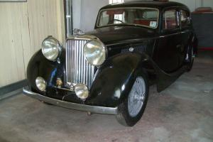 Jaguar 1948 MK IV suitable for restoration stored over 50 years!