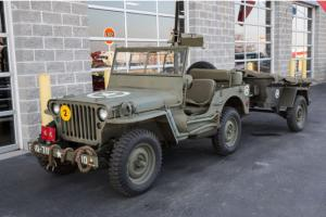 1946 Willys CJ2 Jeep Military Replica With Trailer, Tons of Accessories!