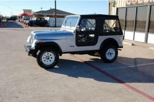 Jeep CJ-7 Classic 4x4 Collectors Low miles One owner Convertible