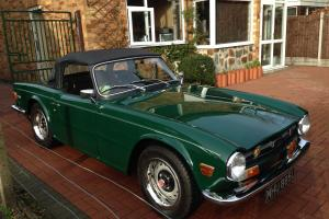 Triumph TR6 Car - PI - 1973 - Racing Green - Fanastic Condition - Overdrive 3&4
