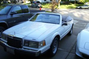 1989 lincoln mark vii convertible