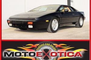 1988 LOTUS ESPRIT TURBO-UPGRADED COOLING FAN SYSTEM-MAINTENANCE RECEIPTS