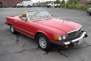 1980 MERCEDES BENZ 450SL LAST YEAR FOR 450SL MUST SELL