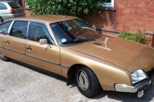 Early and extremely rare Citroen CX 2200 1975 Series I