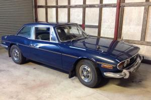 Triumph Stag mk1 1972 3.0 V8 Auto 72000 miles genuine new MOT and tax Photo