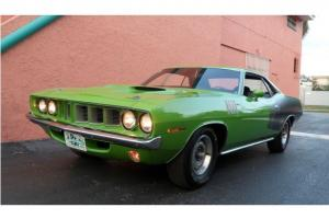 1971 PLYMOUTH CUDA 340 4 SPEED HIGHLY DOCUMENTED BILLBOARD CAR GALEN ONE OF ONE