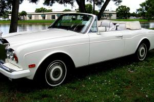 1989 Rolls Royce Corniche l l Photo