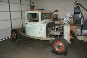 1932 Ford pickup project nearly complete all the best parts Flathead power Photo