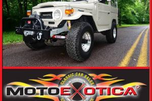 1978 TOYOTA LAND CRUISER FJ40-NUT & BOLT RESTORATION-AMBULANCE-STYLE DOORS-A/C