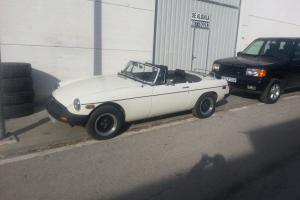 1981 MG ROADSTER CONVERTIBLE LEFT HAND DRIVE-IN SPAIN