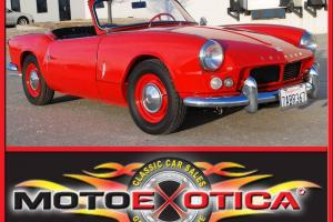 1963 TRIUMPH SPITFIRE 4-DOCUMENTED RESTORATION-WEBER CARB W/ FIREBALL IGNITION