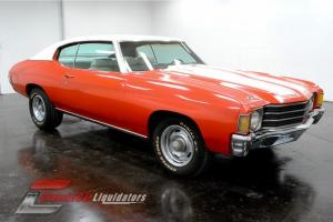 1972 Chevrolet Chevelle 350 V8 Numbers Matching Automatic PS CHECK THIS OUT Photo