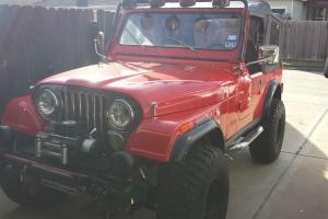 1983 Jeep CJ CJ7 v8 350 auto red