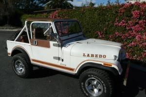 SoCal 1983 Jeep CJ7 LAREDO AUTOMATIC 4x4 hard top and hard doors