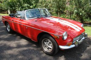 MGB ROADSTER 1974 CHROME BUMPER MODEL