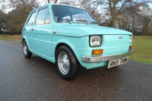 FIAT 126 500 TURQUOISE 1974 very early