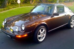 LOW RESERVE: Unique 1981 Porsche 911SC