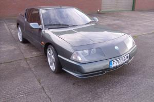 "1989 RENAULT ALPINE GTA V6 TURBO GREY - AVEZ 17"" ALLOY WHEELS - 12 MONTHS MOT"