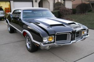 1971 OLDS 442 CUTLASS OLDSMOBILE W-30 4-SPEED CONVERTIBLE