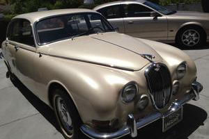 1967 Jaguar S-Type Inline 6 3.8L 4 door sedan