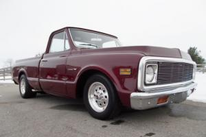 1971 CHEVROLET SHORTBED PICKUP, 454 AUTO, PS, PDB, LOWERD