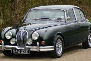 1960 Jaguar Mark II 3.8 overdrive Saloon.  Photo