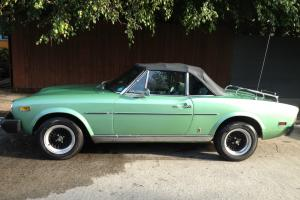 1977 Fiat 124 Spider Convertible 2-Door 1.8L