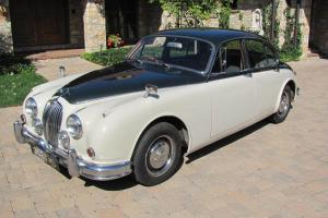 1962 Jaguar MK 2 Sedan, 4 Speed, Runs & Drives, No Reserve!!