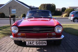 1975 N - Triumph TR6 - CR Chassis UK Car. Imaculate