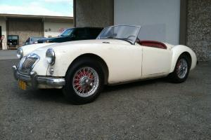 1956 MGA, One Owner, Early Race History Orig. Paint Rebuilt Motor California Car