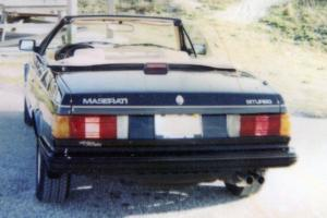 1986 Maserati Biturbo Base Coupe 2-Door 2.5L Black