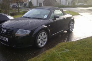 AUDI TT QUATTRO ROADSTER(250 BHP) BLACK 3.2 manual SWAP PX