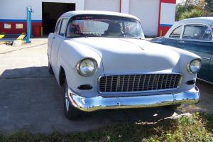 1955 chevy belair project has been frame off 454 ci turbo 350 trans needs finish