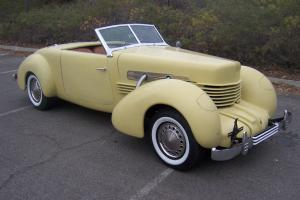 1936 CORD 812 SPORTSMAN CONVERTIBLE ONE OFF CUSTOM BUILT 2/3 SCALE NOT A KIT CAR