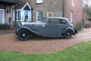 1936 Bentley 4 . 25 Litre Park Ward HK Chassis Number Photo