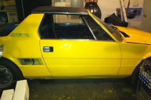 Fiat X1/9 project, solid chassis, mostly complete, lots of spares